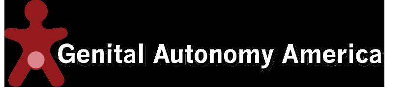 Genital Autonomy America Logo
